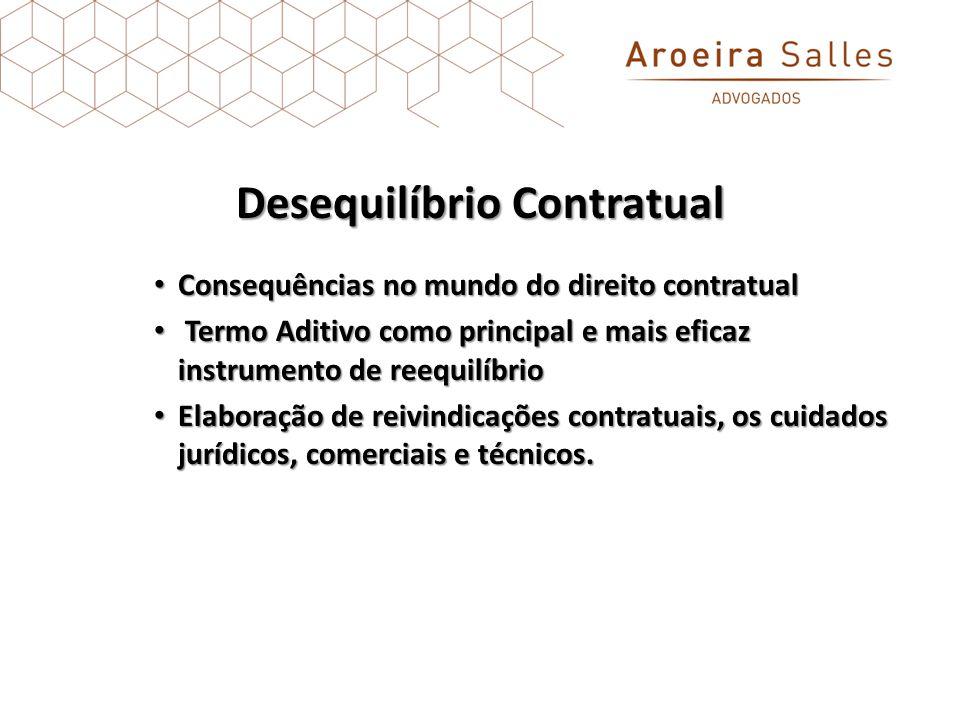Desequilíbrio Contratual