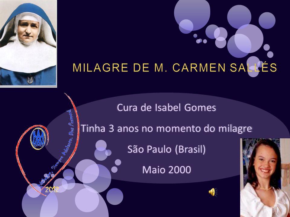 MILAGRE DE M. CARMEN SALLÉS