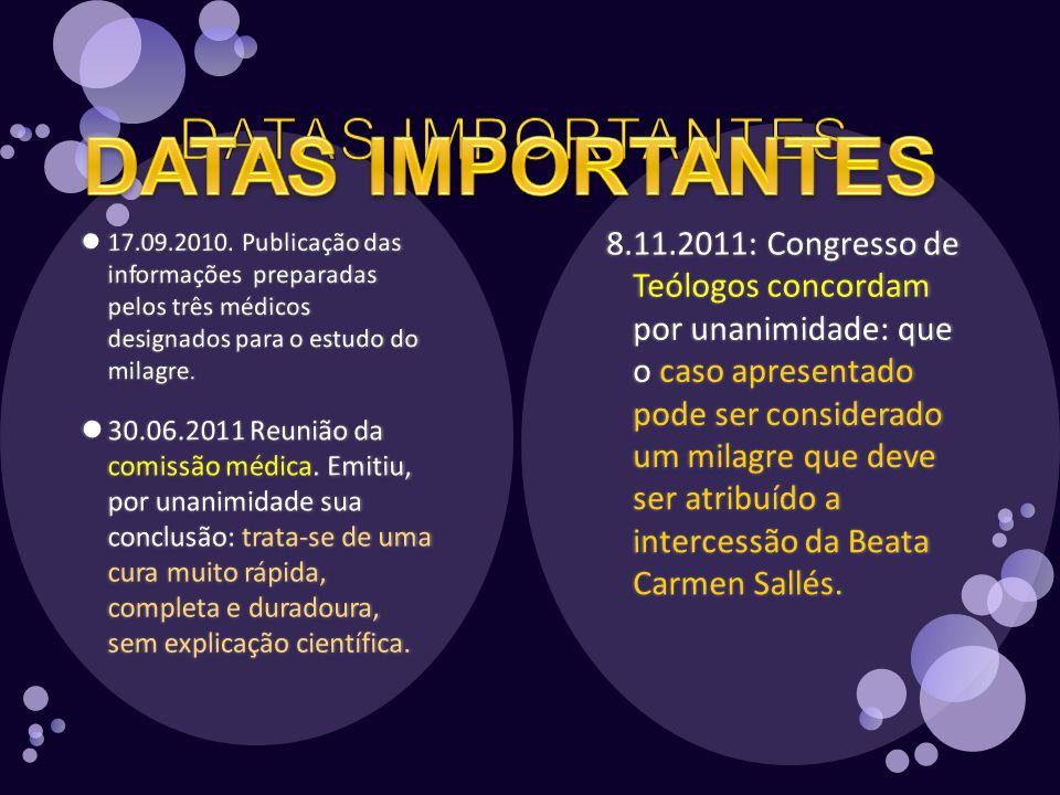 DATAS IMPORTANTES DATAS IMPORTANTES