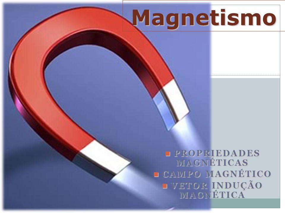 Propriedades Magnéticas Campo Magnético Vetor Indução Magnética