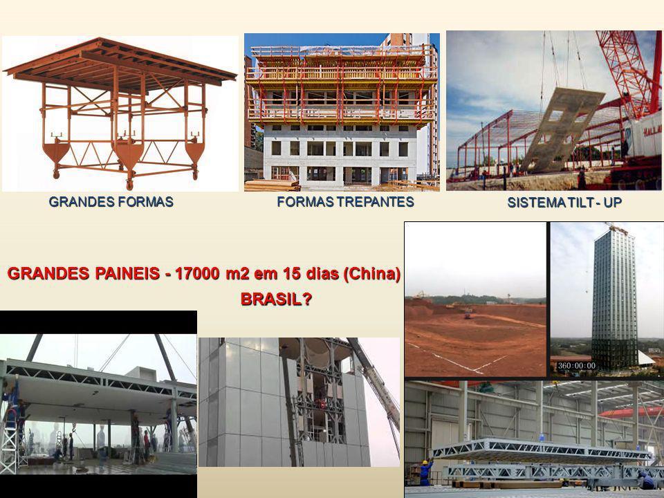 GRANDES PAINEIS - 17000 m2 em 15 dias (China)
