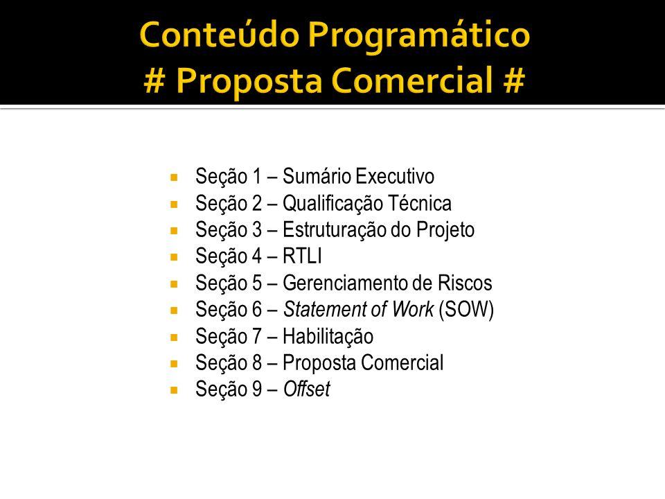 Conteúdo Programático # Proposta Comercial #