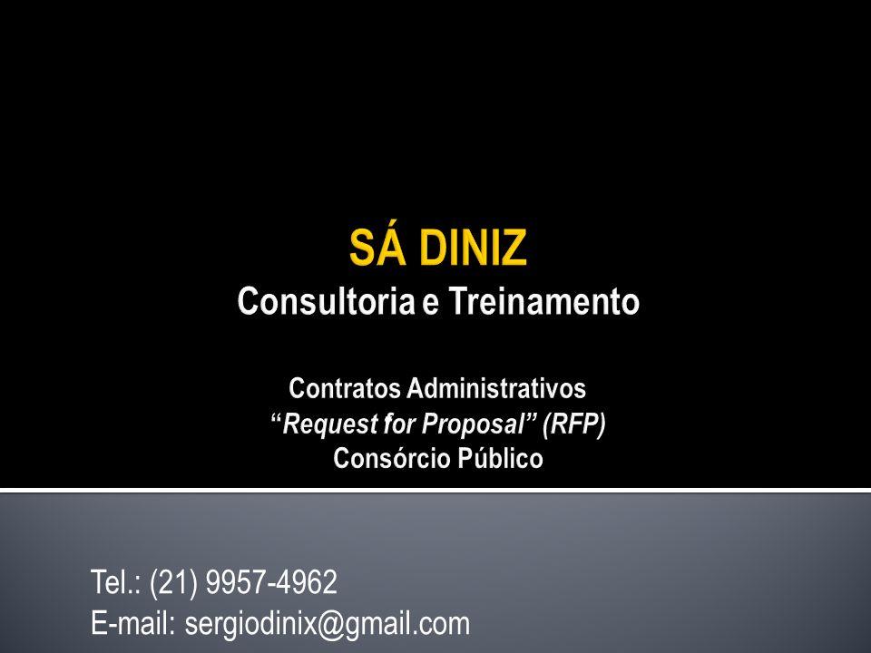 Tel.: (21) 9957-4962 E-mail: sergiodinix@gmail.com