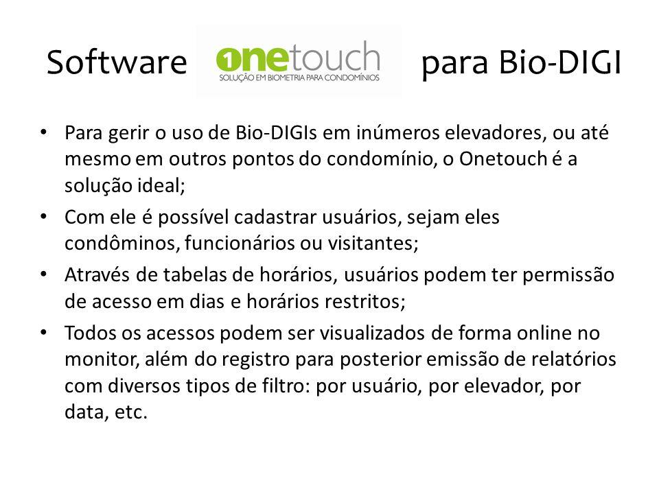 Software Onetouch para Bio-DIGI
