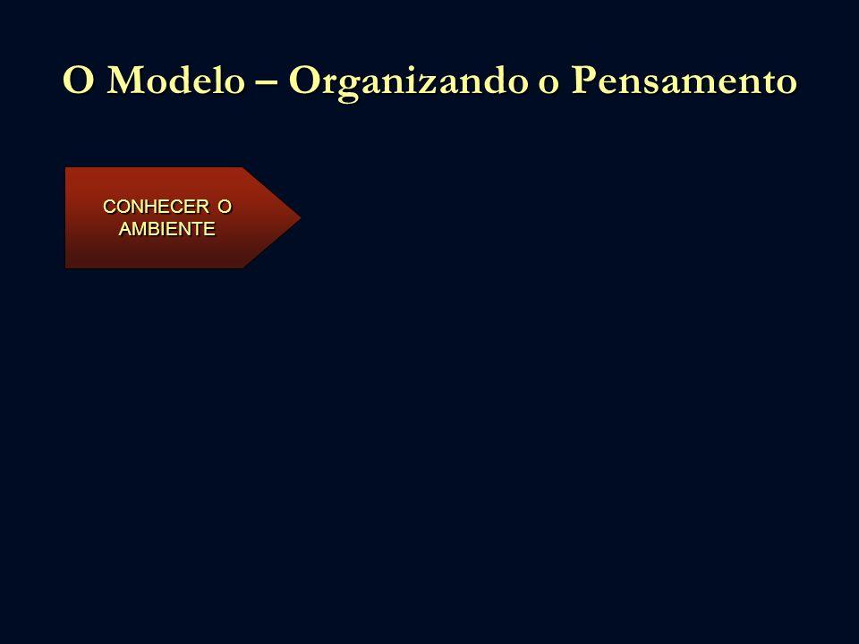 O Modelo – Organizando o Pensamento