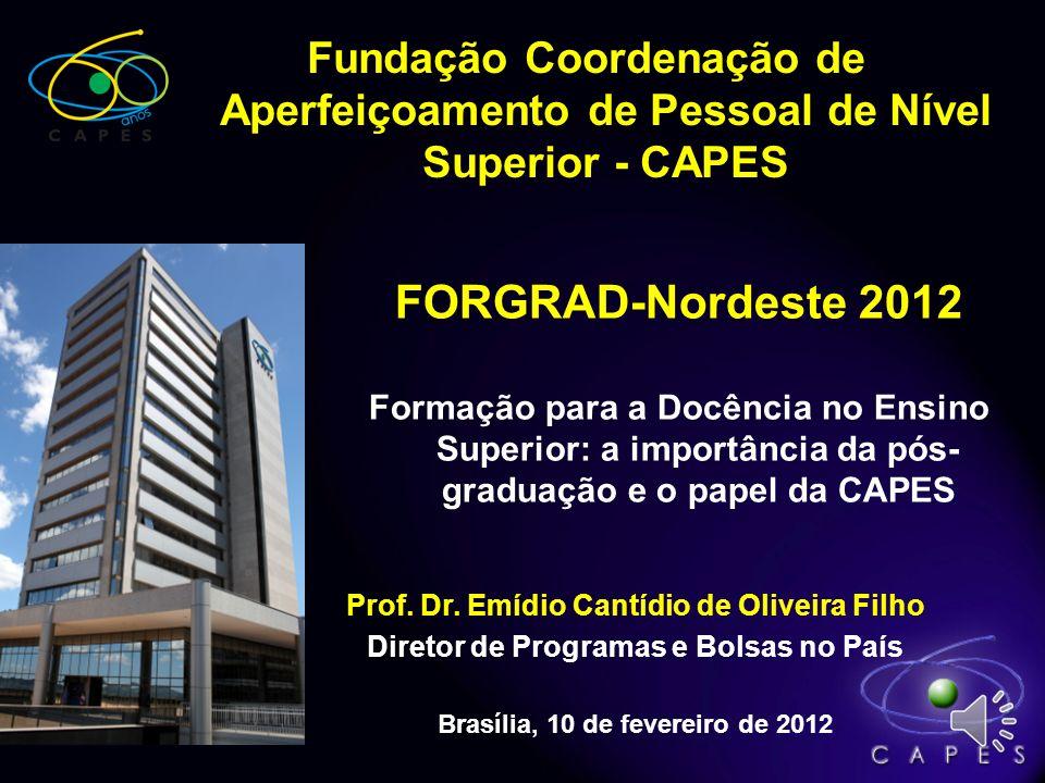 Fundação Coordenação de Aperfeiçoamento de Pessoal de Nível Superior - CAPES