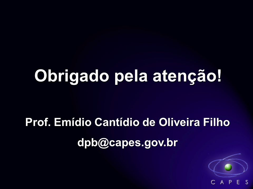 Prof. Emídio Cantídio de Oliveira Filho