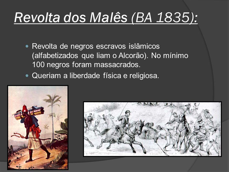 Revolta dos Malês (BA 1835):
