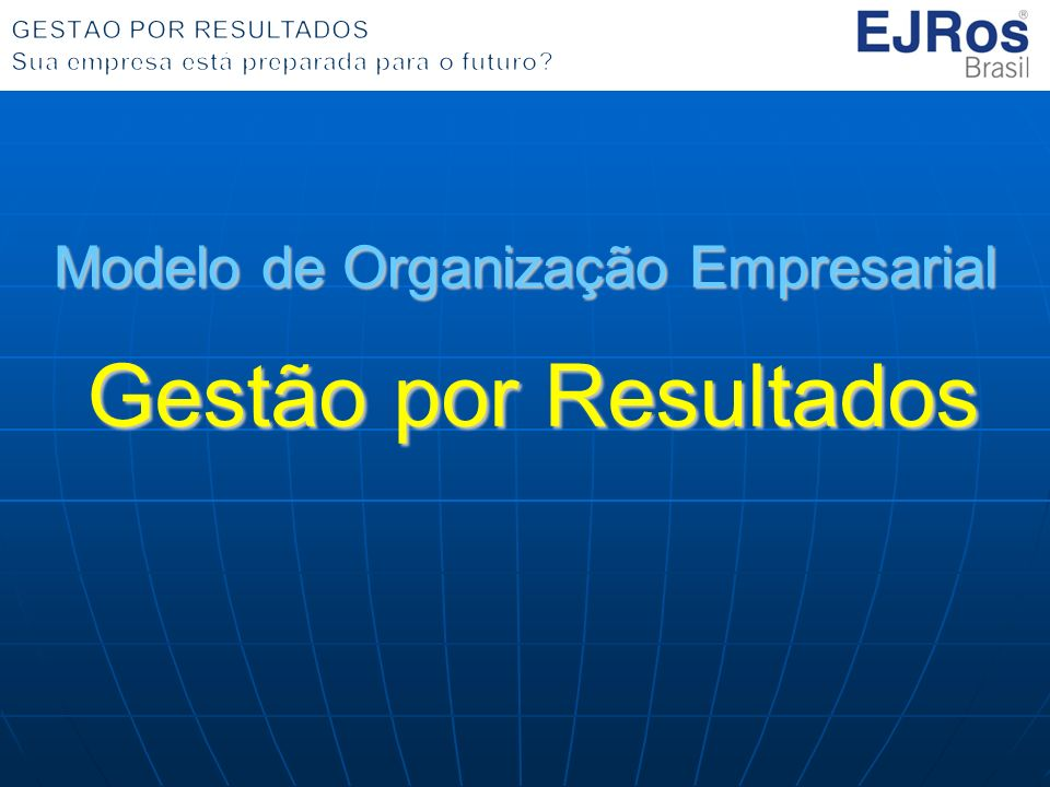 Modelo de Organização Empresarial