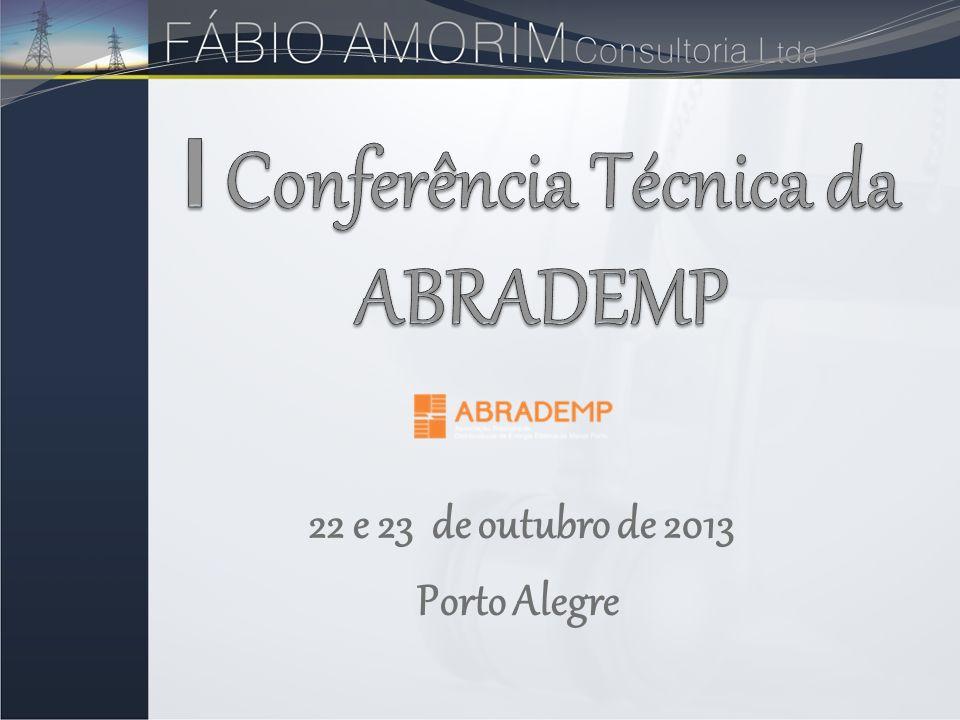 I Conferência Técnica da ABRADEMP