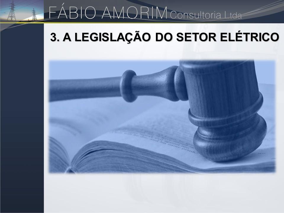 3. A LEGISLAÇÃO DO SETOR ELÉTRICO