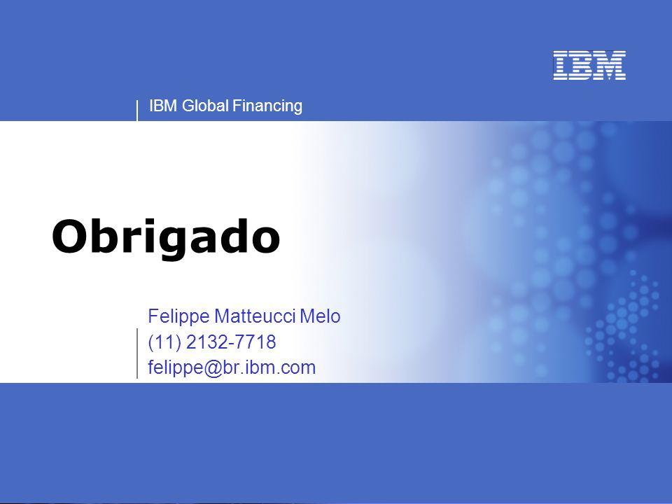 Felippe Matteucci Melo (11) 2132-7718 felippe@br.ibm.com
