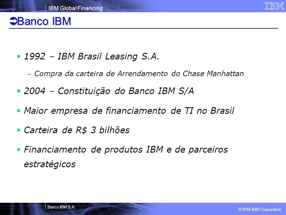 Banco IBM 1992 – IBM Brasil Leasing S.A.