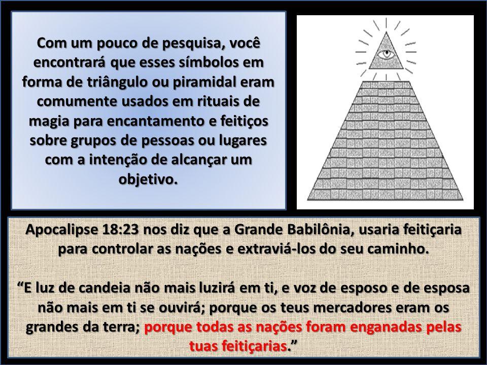 Com um pouco de pesquisa, você encontrará que esses símbolos em forma de triângulo ou piramidal eram comumente usados em rituais de magia para encantamento e feitiços sobre grupos de pessoas ou lugares com a intenção de alcançar um objetivo.