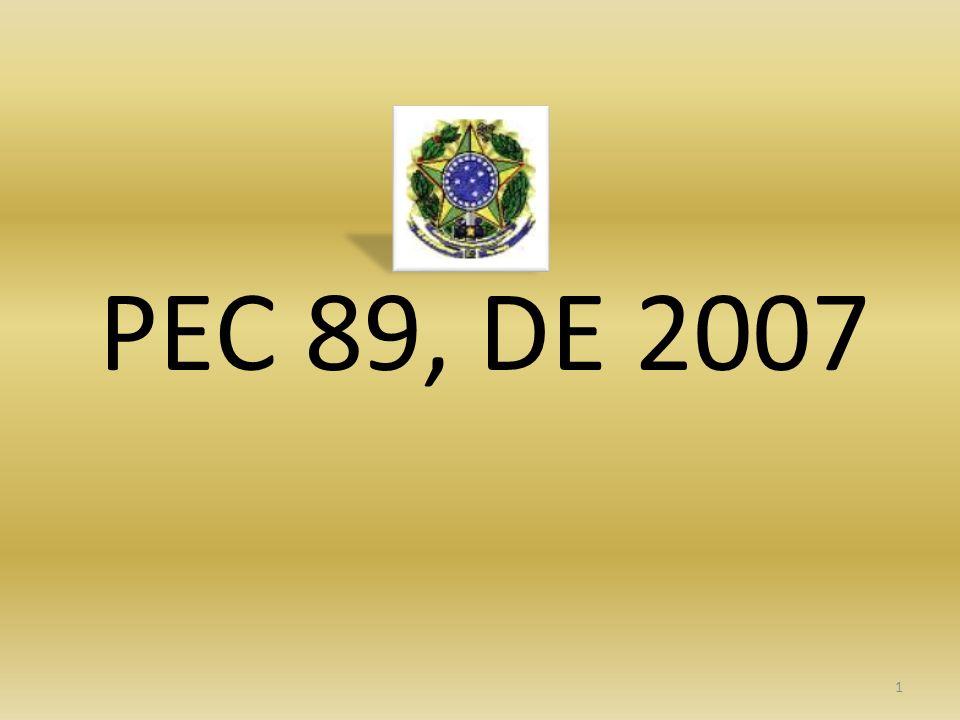 PEC 89, DE 2007
