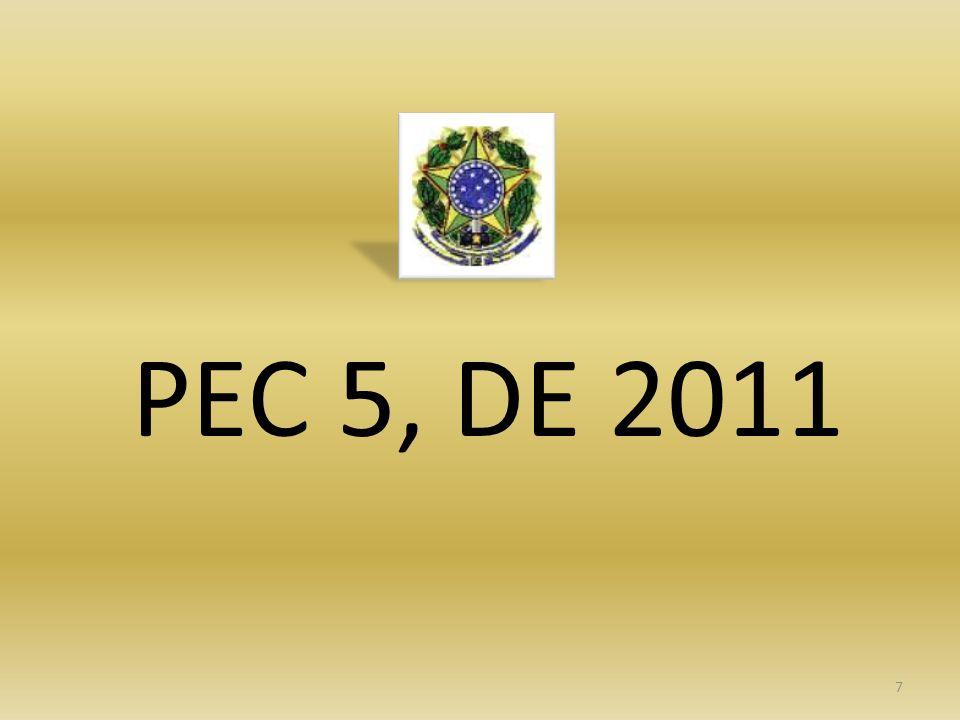 PEC 5, DE 2011