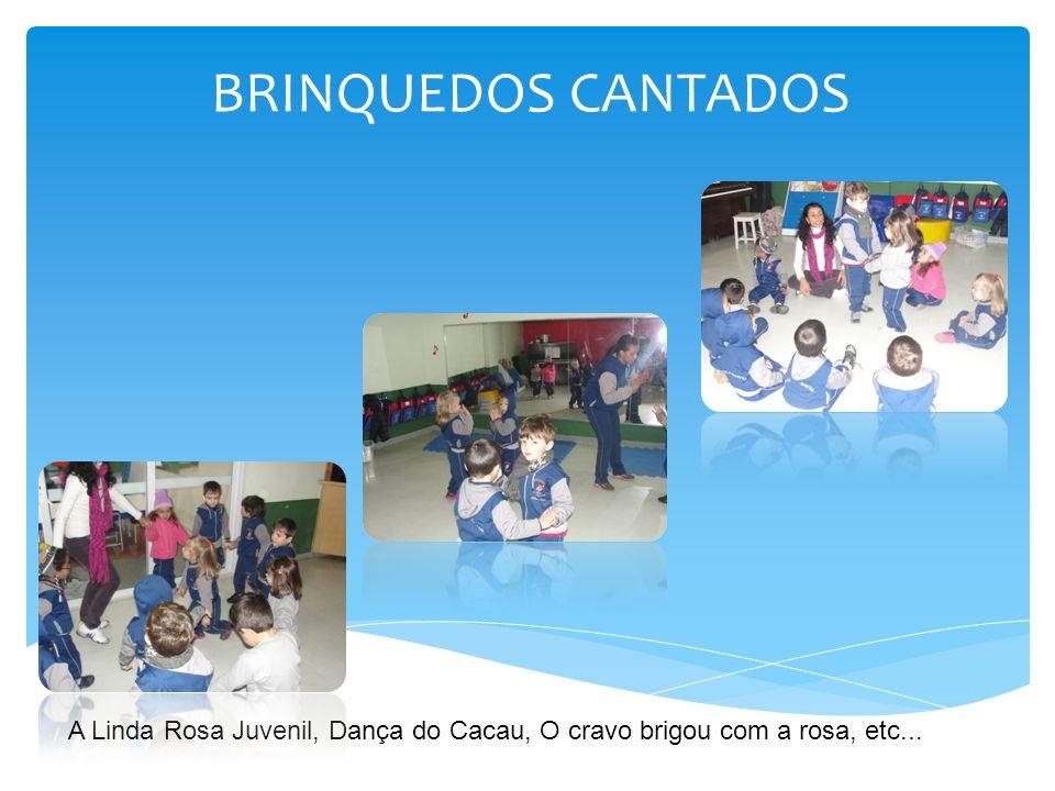 BRINQUEDOS CANTADOS A Linda Rosa Juvenil, Dança do Cacau, O cravo brigou com a rosa, etc...