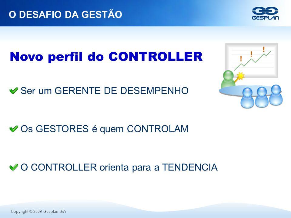 Novo perfil do CONTROLLER