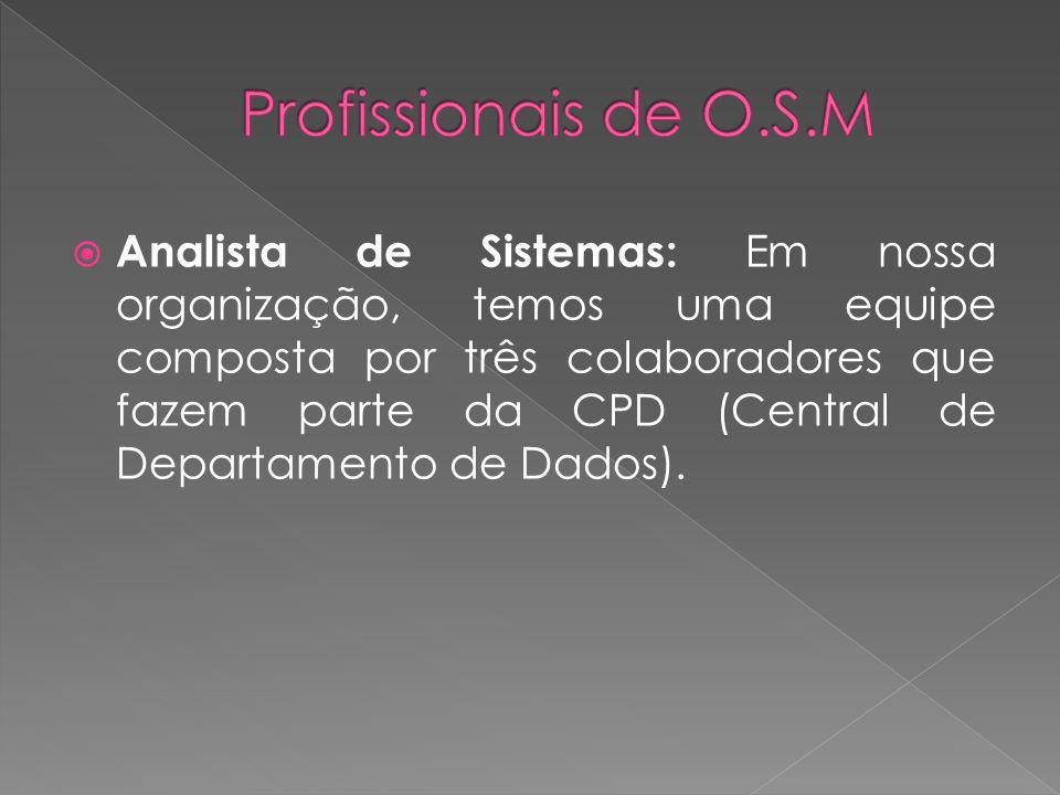 Profissionais de O.S.M