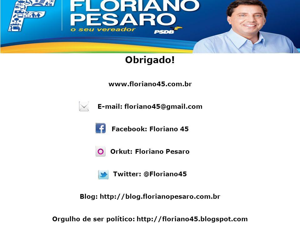 Apresentação Classe Média Obrigado! www.floriano45.com.br