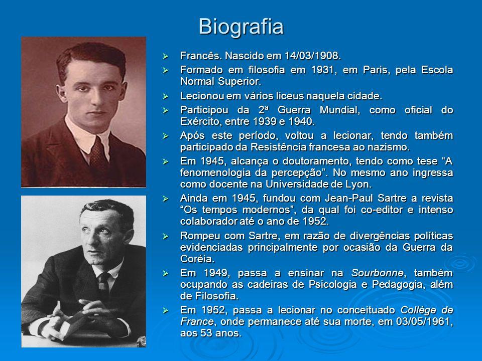 Biografia Francês. Nascido em 14/03/1908.