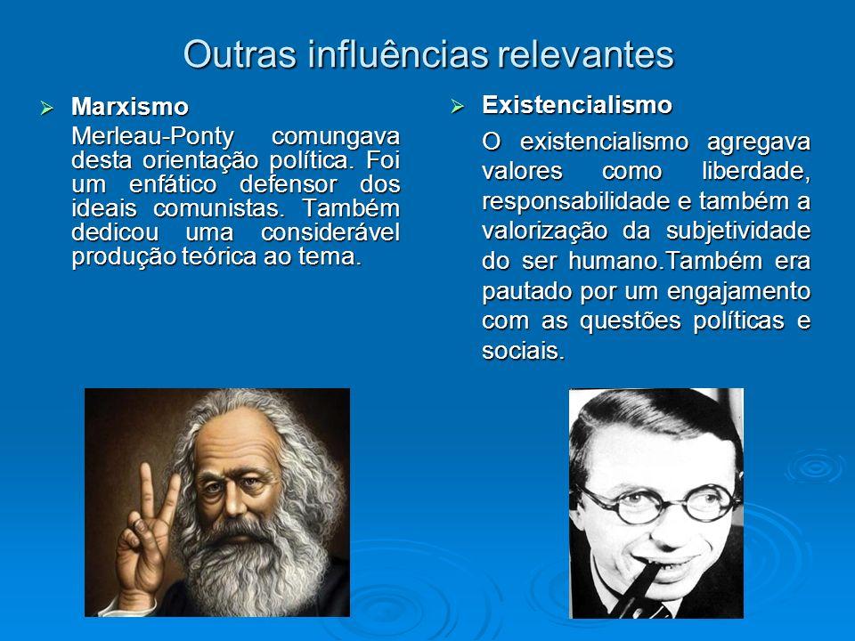 Outras influências relevantes