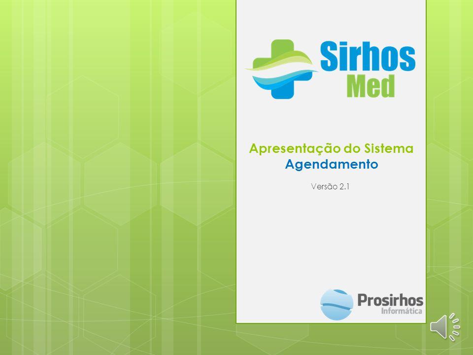Apresentação do Sistema Agendamento