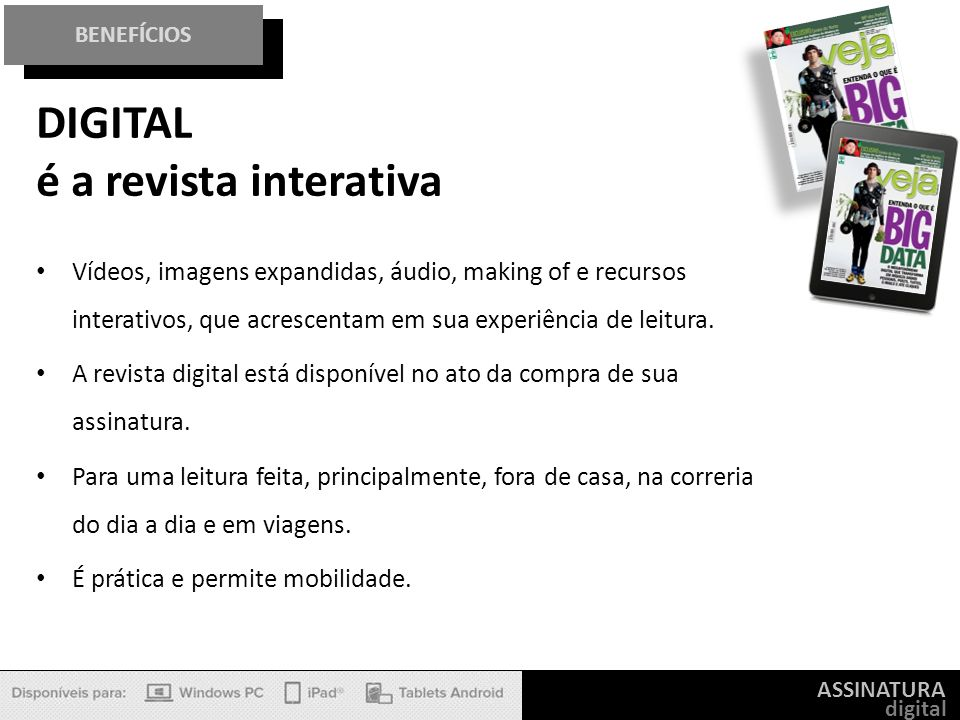 DIGITAL é a revista interativa