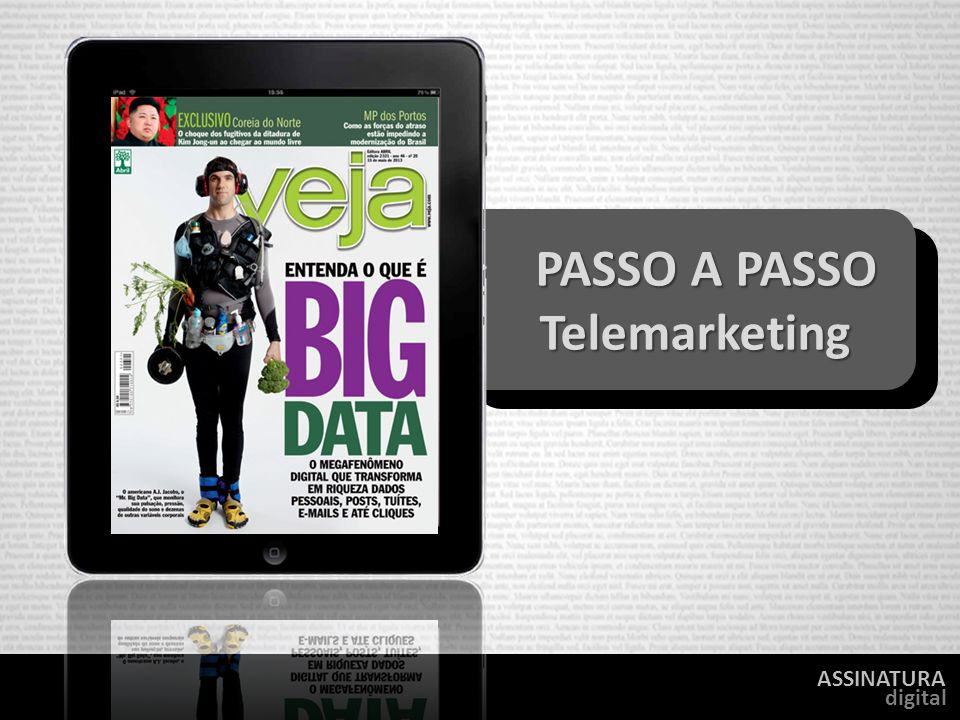 PASSO A PASSO Telemarketing