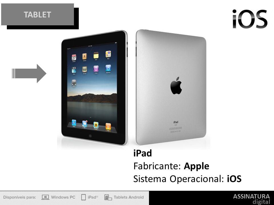 Sistema Operacional: iOS