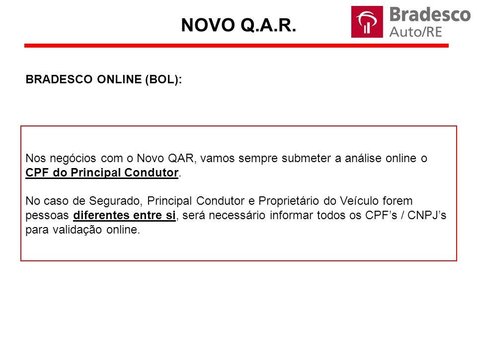 NOVO Q.A.R. BRADESCO ONLINE (BOL):