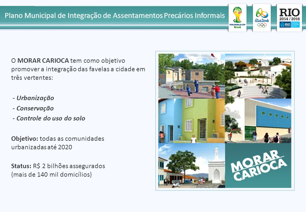 Plano Municipal de Integração de Assentamentos Precários Informais