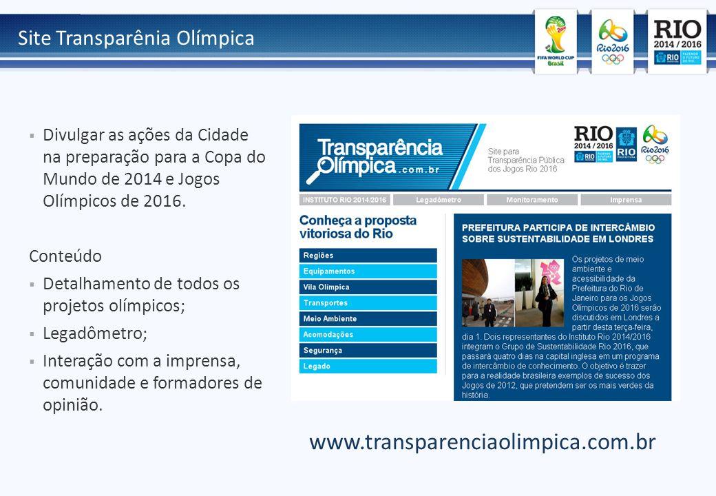 www.transparenciaolimpica.com.br Site Transparênia Olímpica