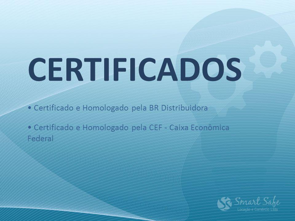 CERTIFICADOS • Certificado e Homologado pela BR Distribuidora