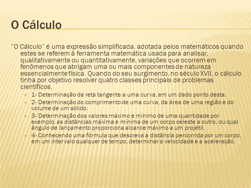 O Cálculo