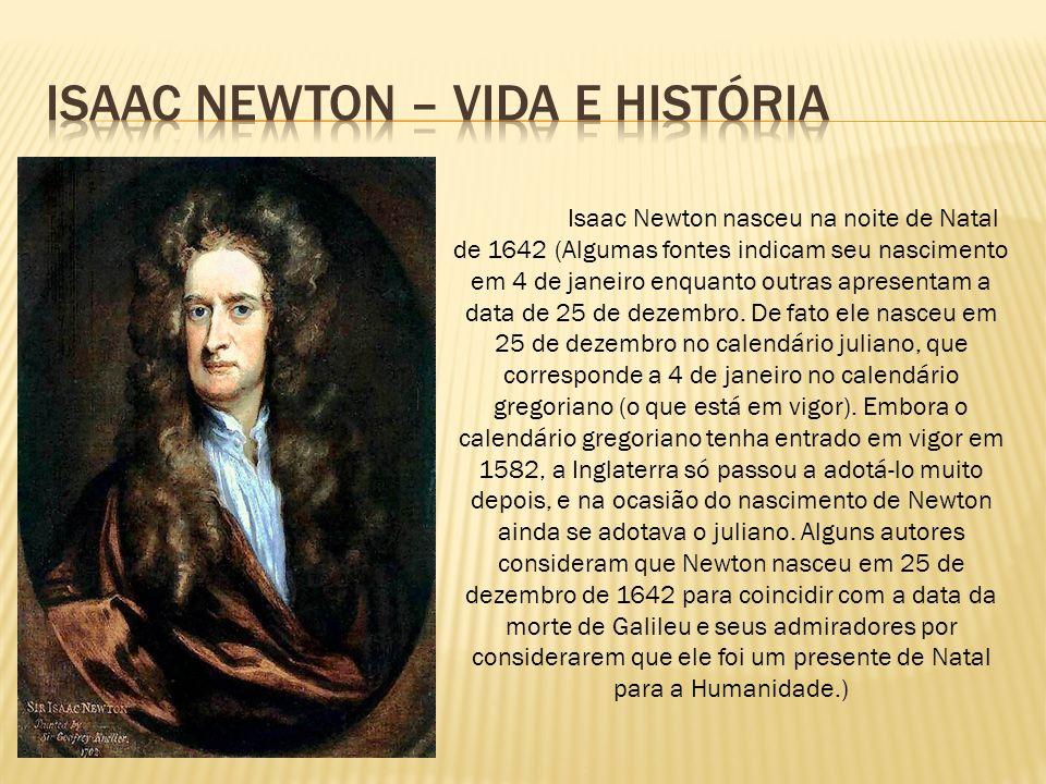 Isaac Newton – vida e história