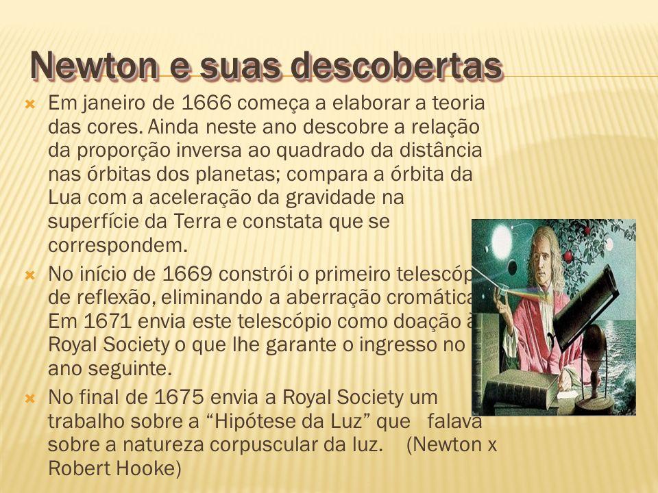 Newton e suas descobertas
