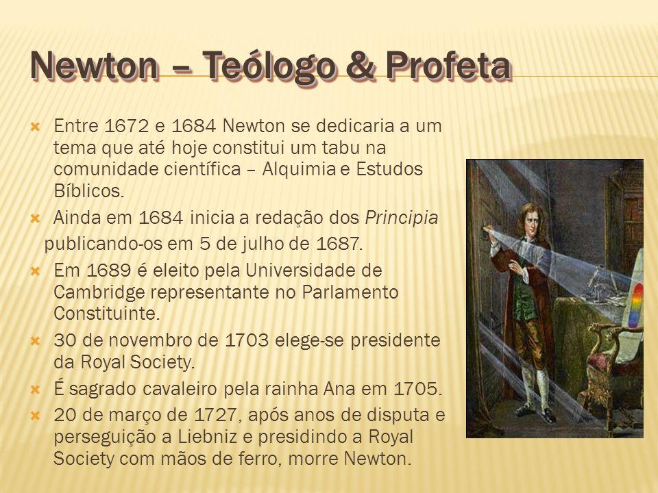 Newton – Teólogo & Profeta