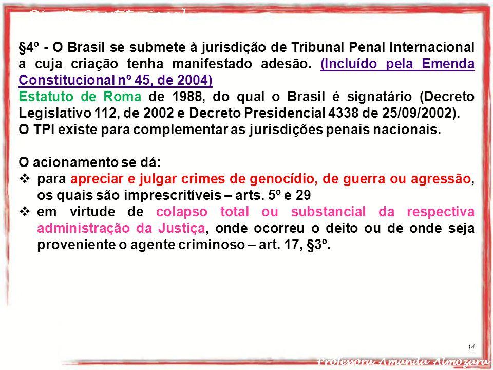O TPI existe para complementar as jurisdições penais nacionais.