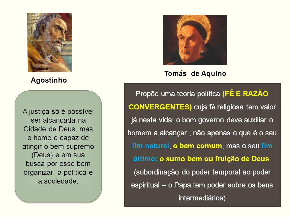 Tomás de Aquino Agostinho.