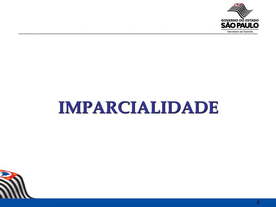 IMPARCIALIDADE