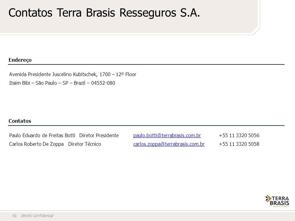 Contatos Terra Brasis Resseguros S.A.
