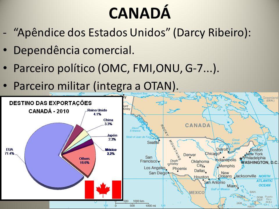 CANADÁ Apêndice dos Estados Unidos (Darcy Ribeiro):