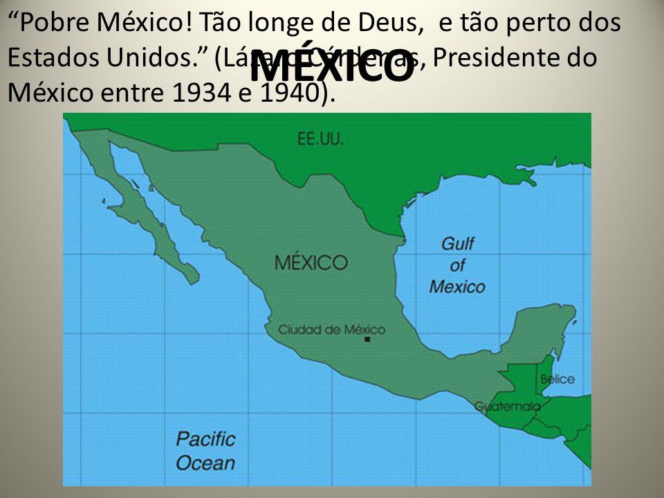 MÉXICO Pobre México.