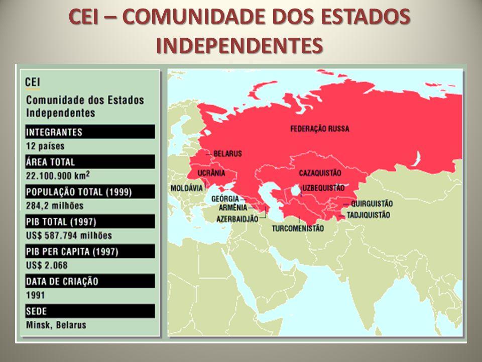 CEI – COMUNIDADE DOS ESTADOS INDEPENDENTES