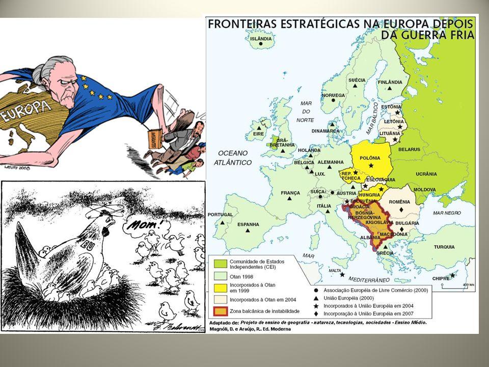 2004: maior ampliação do bloco com 10 adesões, expandindo sua influência ao antigo leste europeu: Chipre, Malta, Estônia, Letônia, Lituânia, Polônia, República Tcheca, Eslováquia, Hungria e Eslovênia.