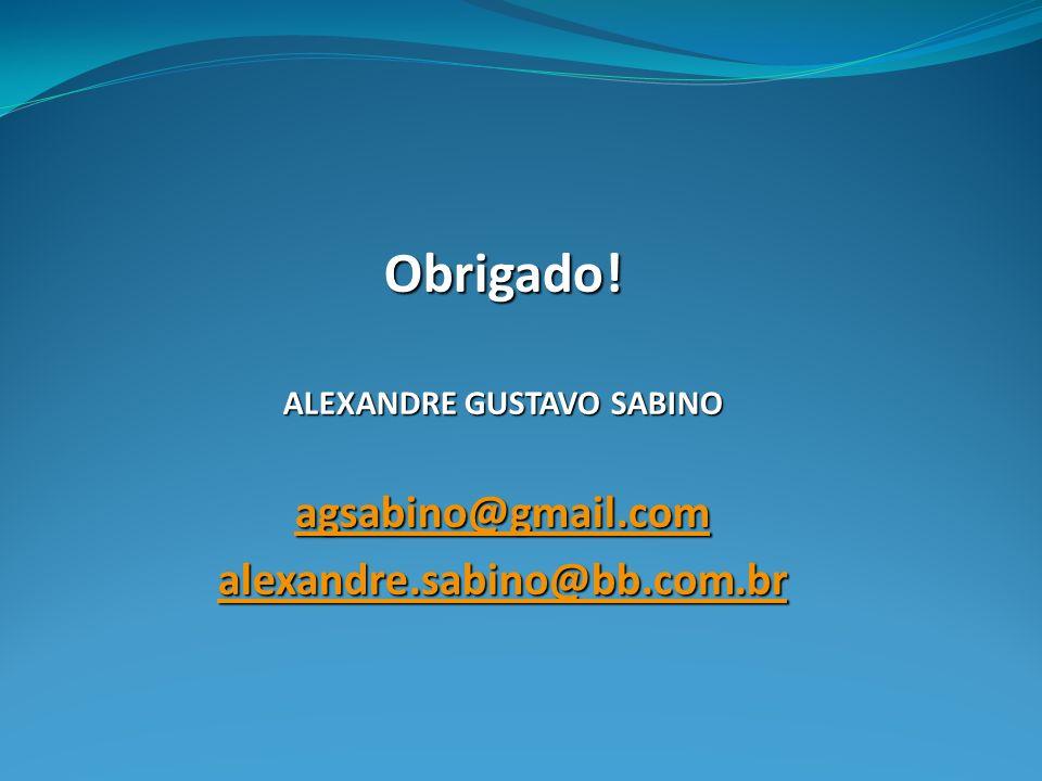 ALEXANDRE GUSTAVO SABINO