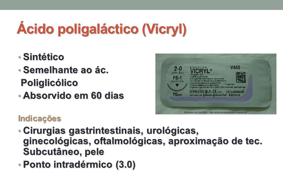 Ácido poligaláctico (Vicryl)