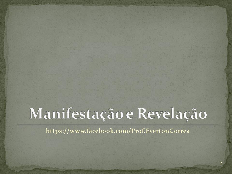Manifestação e Revelação