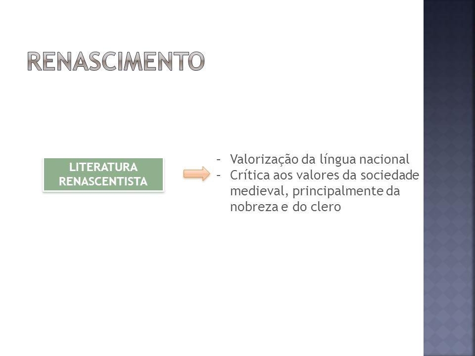 LITERATURA RENASCENTISTA